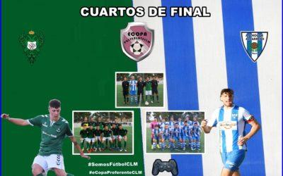 Sigue el espectáculo de la Copa Preferente de CLM PS4 . Hoy por Facebook .A.D.Hogar Alcarreño . Cuartos de Final C.D. TOLEDO – A.D. HOGAR ALCARREÑO