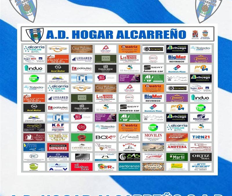 NETWORKING VIRTUAL SPONSORS A.D HOGAR ALCARREÑO S.A.D