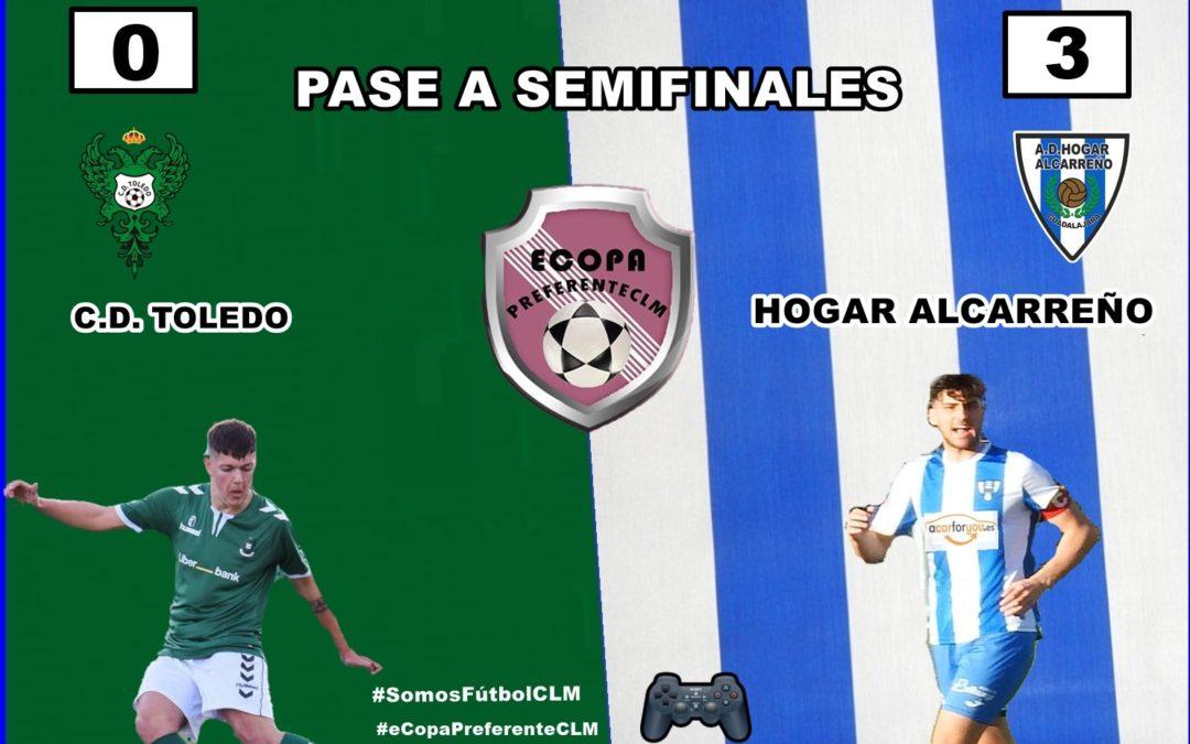 FINAL PARTIDO TOLEDO 0- 3 HOGAR ALCARREÑO. PASAMOS A SEMIFINALES CONTRA C.D. SONSECA