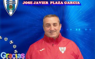 MUCHAS GRACIAS JOSE JAVIER PLAZA GARCIA POR TU IMPLICACIÓN  TODO ESTE TIEMPO EN LA A.D. HOGAR ALCARREÑO S.A.D.