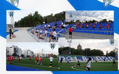 Día histórico para A.D. HOGAR ALCARREÑO S.A.D., hoy miércoles 16 de septiembre arranca el Equipo de Fútbol Femenino.