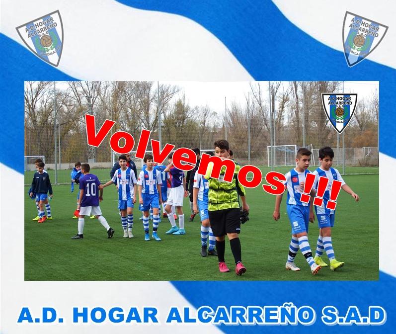 VOLVEMOS !!! A.D. HOGAR ALCARREÑO S.A.D.