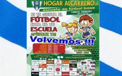 ¡¡¡YA QUEDA MENOS PARA VOLVER !!! – A.D.HOGAR ALCARREÑO S.A.D.