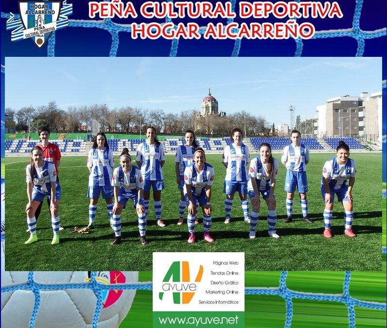 HOGAR ALCARREÑO 1-0 C.F TALAVERA FEMENINO,  14 FEBRERO 2021 . AYUVE.