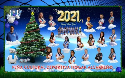 FELIZ AÑO NUEVO 2021.