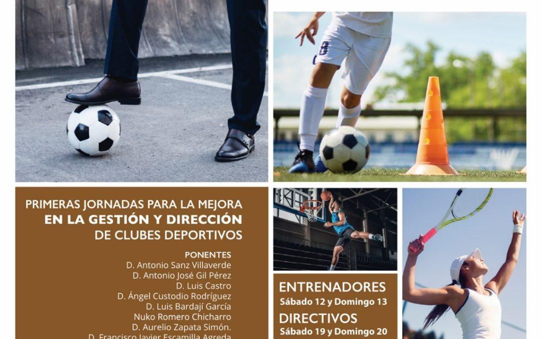 I Jornadas para la Mejora en la Gestión y Dirección de Clubes Deportivos en Guadalajara