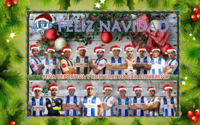 FELIZ NAVIDAD .Peña Deportiva y Cultural Hogar Alcarreño.