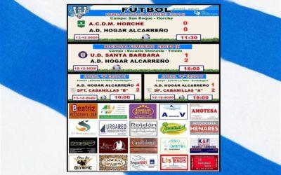 RESULTADOS 12-13 DICIEMBRE 2020 PEÑA   HOGAR ALCARREÑO .  ROLDAN CONSULTORES