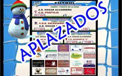 HORARIOS JORNADA 16-17 ENERO 2021 , PEÑA HOGAR ALCARREÑO. FERRYMAS.