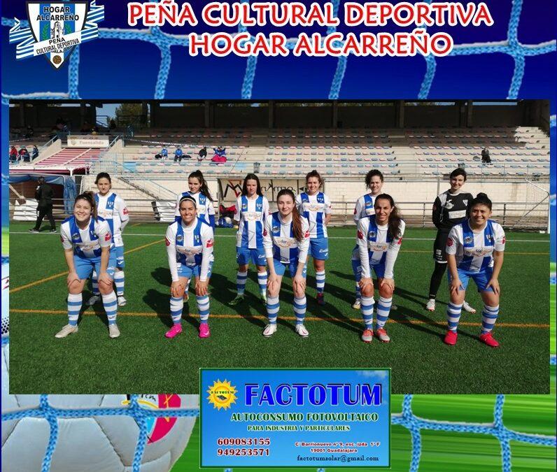 E.M. FEMINAS SOLISS FUENSALIDA B 1-1 HOGAR ALCARREÑO FEMENINO.7 FEBRERO 2021 .PEÑA HOGAR ALCARREÑO.FACTOTUM.