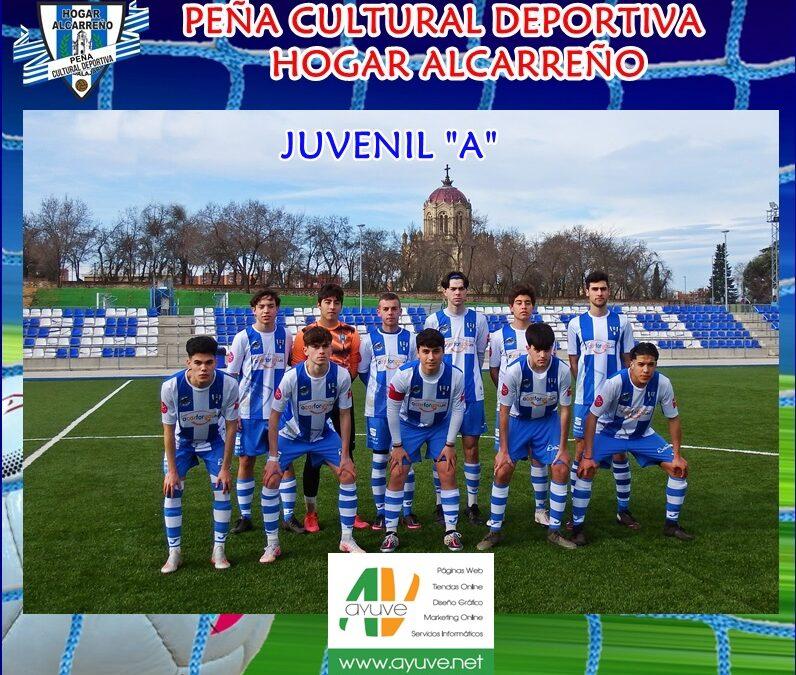 HOGAR ALCARREÑO JUVENIL «A» 5 – 0  DINAMO GUADALAJARA «C»  13 FEBRERO 2021  . AYUVE