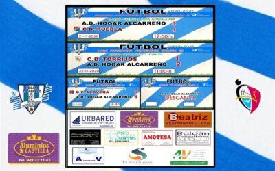 RESULTADOS JORNADA 20-21 MARZO 2021 .PEÑA HOGAR ALCARREÑO . ALUMINIOS CASTILLA.