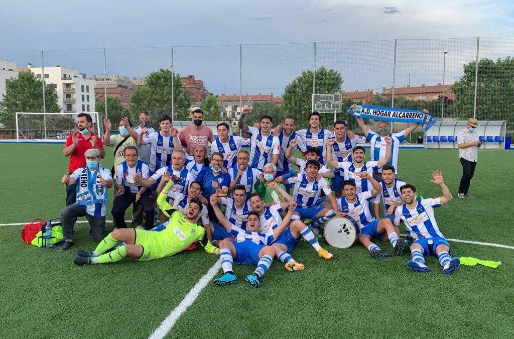 El Hogar Alcarreño ya es equipo de Tercera División RFEF