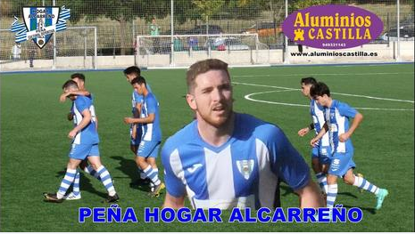 Ballesteros, autor del primer gol del Hogar Alcarreño en 3ª RFEF